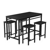 Berau 5 - Piece Counter Height Dining Set by 17 Stories