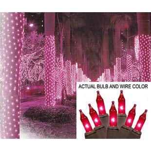 mini light tree trunk wrap christmas net light