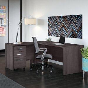 Studio C 3 Piece L-Shaped Desk Office Suite