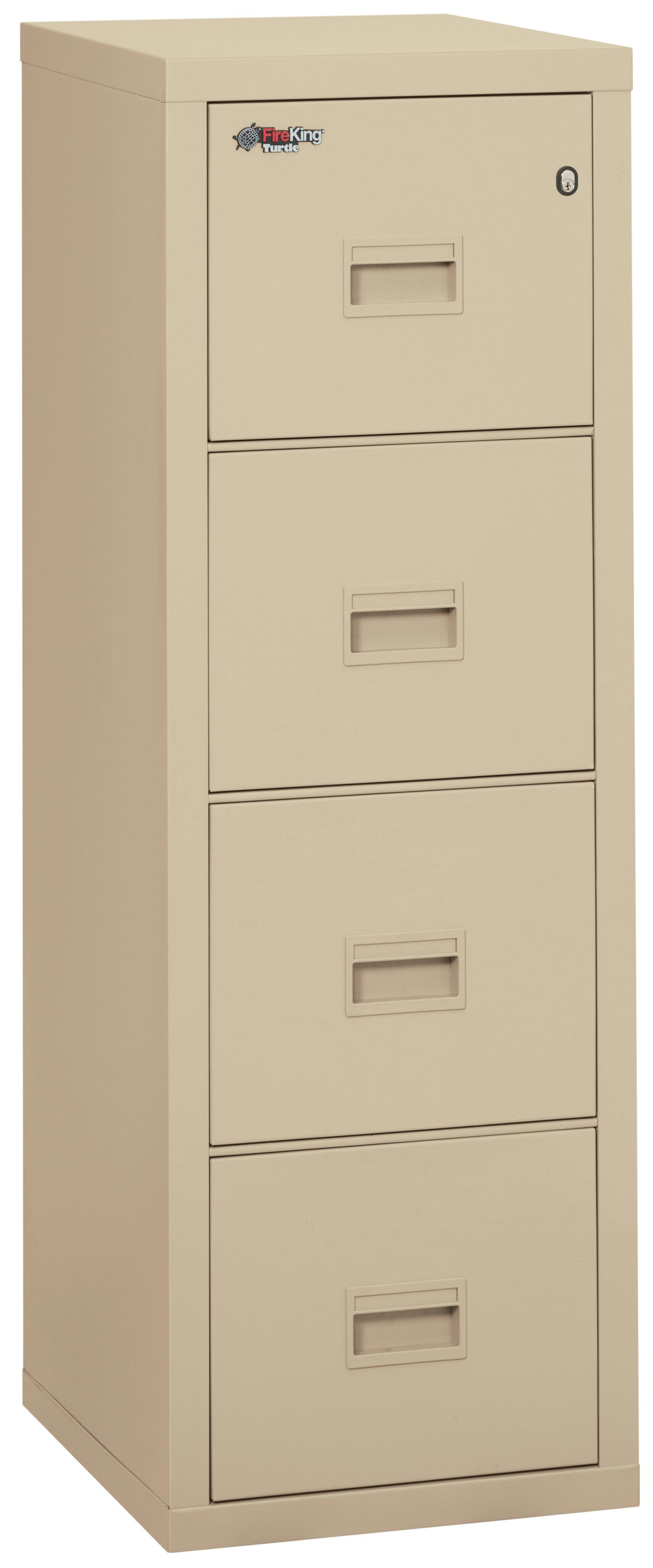 Ordinaire FireKing Turtle Fireproof 4 Drawer Vertical File Cabinet U0026 Reviews   Wayfair