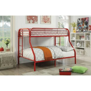 Carrasquillo Metal Twin Over Full Bunk Bed by Zoomie Kids