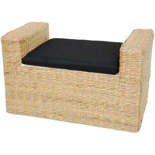 Beachcrest Home Kianna Fabric Storage Bench