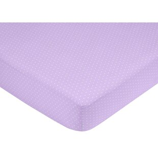 Affordable Mod Dots Mini Fitted Crib Sheet By Sweet Jojo Designs