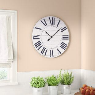 French Country Kitchen Clock Wayfair
