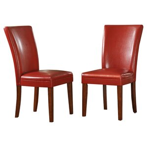 Hindsboro Parsons Chair (Set of 2) by Three Posts