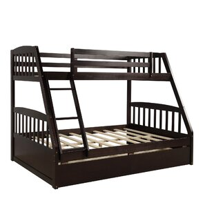 Twin Over Full Bunk Bed with 2 Drawers by wilddonkey