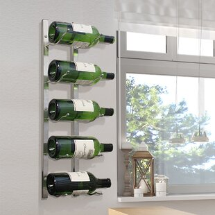 Magnum 5 Bottle Wall Mounted Wine Rack by..