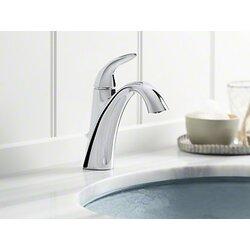 Bathroom Sink Faucet kohler alteo single-handle bathroom sink faucet & reviews | wayfair