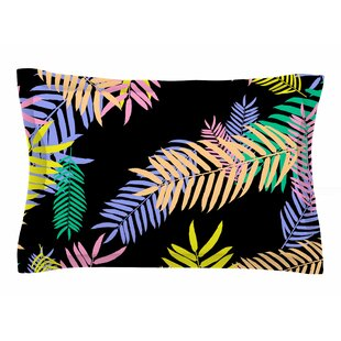Vasare Nar 'Tropical Palm 90s' Floral Sham