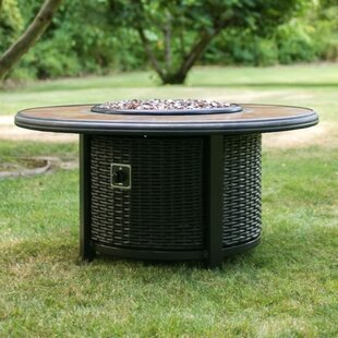 Tretco Aluminum Gas Fire Pit Table