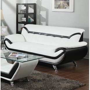 Emanuel Leather Standard Sofa