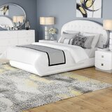 Rachna Upholstered Platform 4 Piece Bedroom Set by Orren Ellis