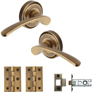 Door Handle Kit by Heritage Brass
