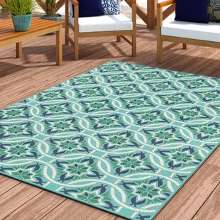 💥 Chasse Black Indoor/Outdoor Area Rug by Winston Porter