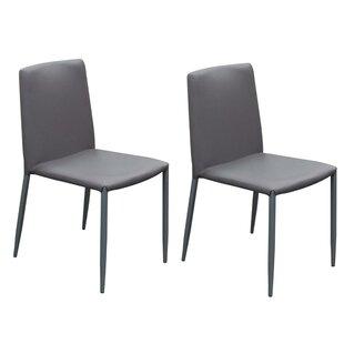 Orren Ellis Joseline Upholstered Dining Chair (Set of 2)