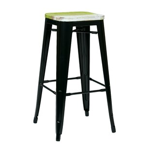 Comparison Isabel 30 Indoor Bar Stool (Set of 4) by Laurel Foundry Modern Farmhouse Reviews (2019) & Buyer's Guide