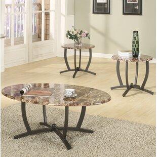 Ebern Designs Leonard 3 Piece Coffee Table Set