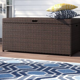 Belton Wicker Deck Box