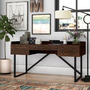 Diaz Solid Wood Writing Desk