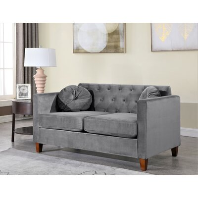 Blue Velvet Loveseats You Ll Love In 2019 Wayfair