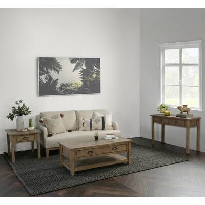 Winston Porter Cawley Wooden Coffee Table With Storage Wayfair
