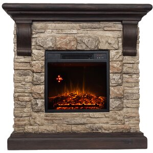 Mcdougall Comfort Glow Electric Fireplace by Three Posts