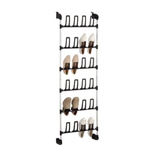 Organize It All 6-Tier Overdoor Shoe Organizer
