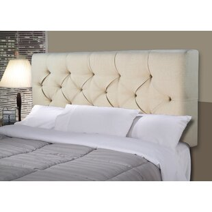 Hobson Upholstered Panel Headboard by Darby Home Co