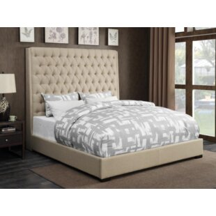 Darby Home Co Brannelly Upholstered Panel Bed