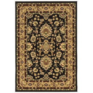 Lozoya Black Area Rug By Astoria Grand