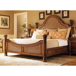 Tommy Bahama Home Island Estates Panel Bed & Reviews | Wayfair