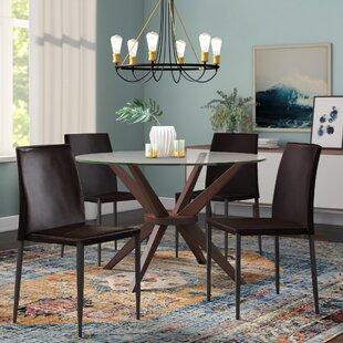 Orren Ellis Leistner Upholstered Dining Chair (Set of 4)