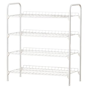 4 tier 9 pair shoe rack