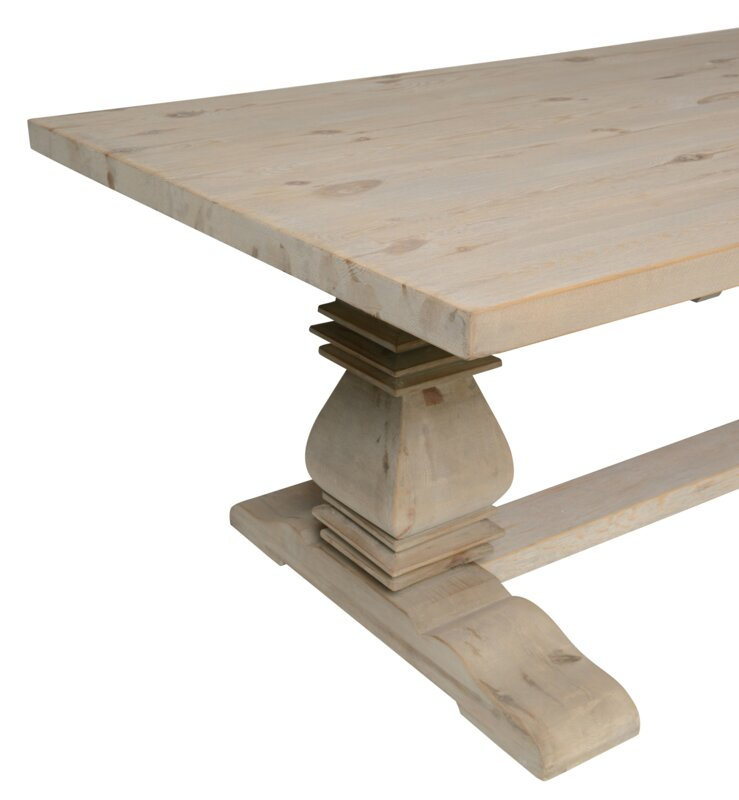 Suzette Reclaimed Pine Dining Table Reviews Joss Main
