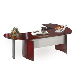 Napoli Series Desk Office Suite by Mayline Group Savings