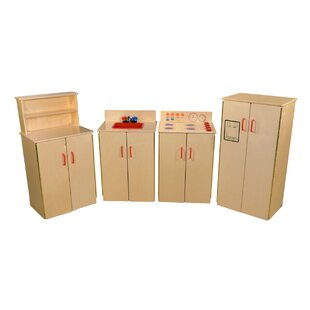 Affordable Price 4 Piece School Age Kitchen Set ByWood Designs