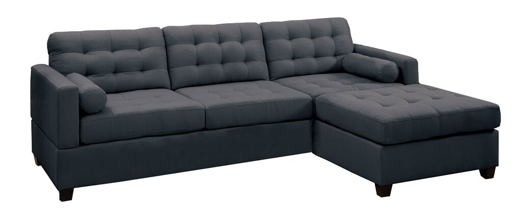 shocking ideas lounge chaise reversible sofa with