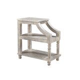 Hasan Solid Wood End Table with Storage by One Allium Way®