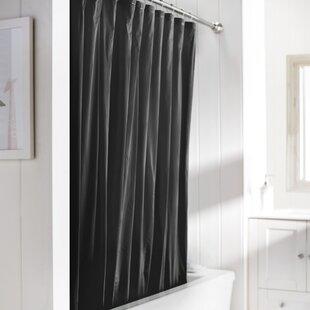 Black And Tan Shower Curtain | Wayfair