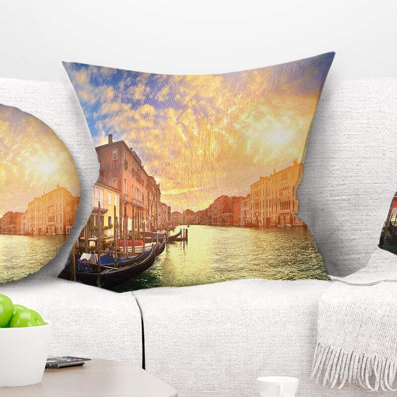 Cities Countries U S States Global Inspired Throw Pillows You Ll Love In 2021 Wayfair