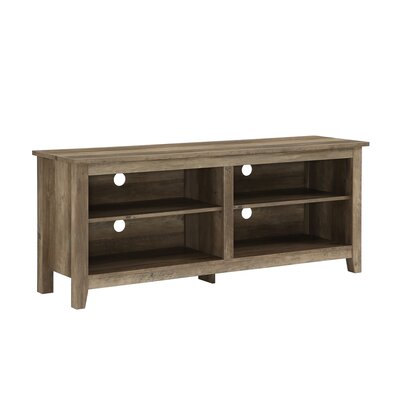 Beachcrest Home Sunbury TV Stand for TVs up to 60 Color: Rustic Oak