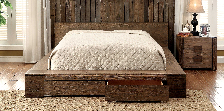 Trent Austin Design Arianna Solid Wood Storage Platform Bed