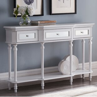 Review Leachville Console Table By House of Hampton