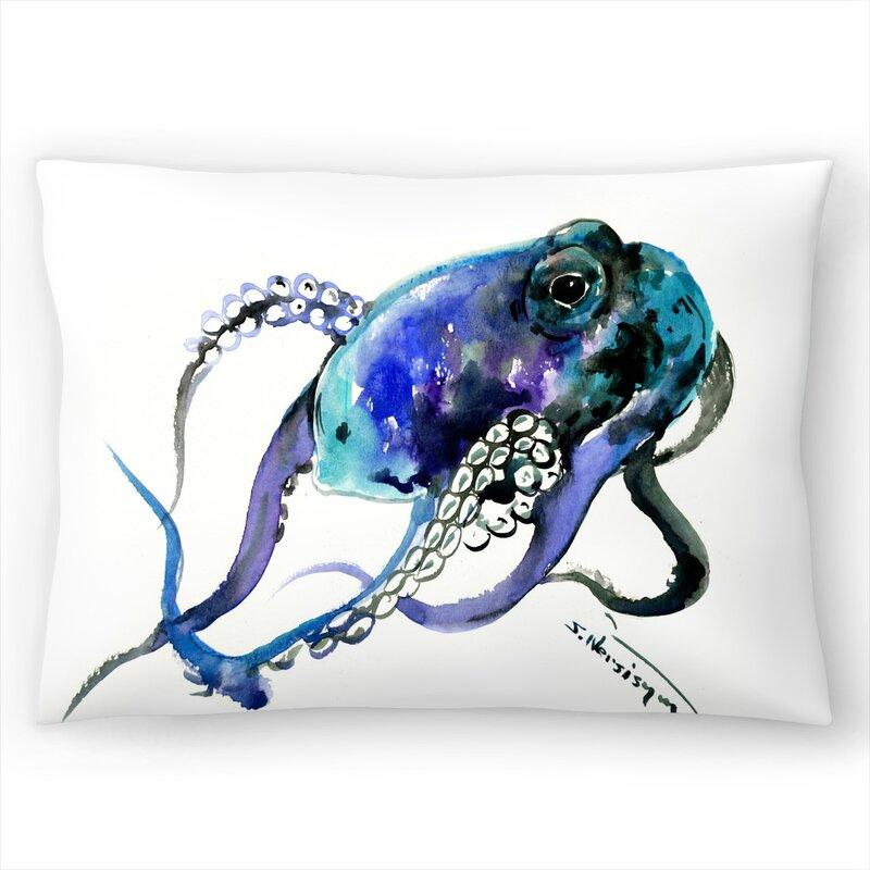 East Urban Home Octopus Lumbar Pillow Wayfair