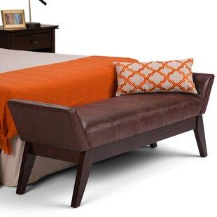 Simpli Home Duvall Bedroom Bench
