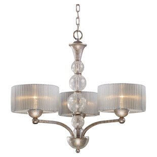 Willa Arlo Interiors Stanmore 3-Light Shaded Chandelier