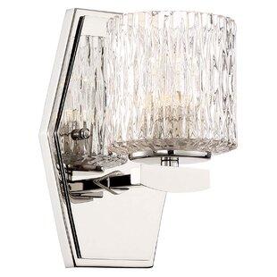 Orren Ellis Campas 1-Light LED Bath Sconce