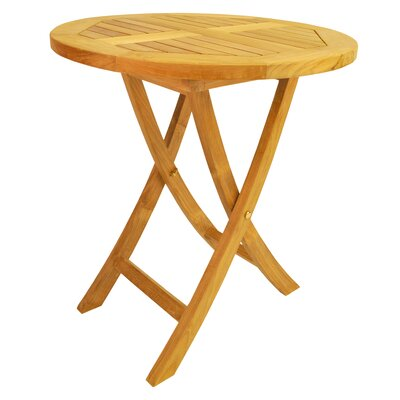 Farnam Solid Wood Bistro Table by Rosecliff Heights Best Design