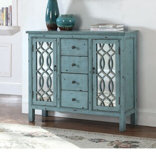 Hirst Traditional 2 Door Accent Cabinet by August Grove