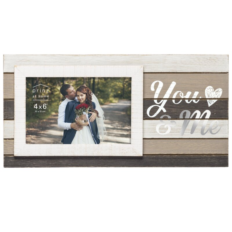 Prinz Kendall You Me Wedding Picture Frame Wayfair